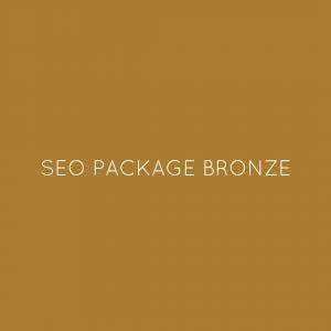 SEO Package Bronze